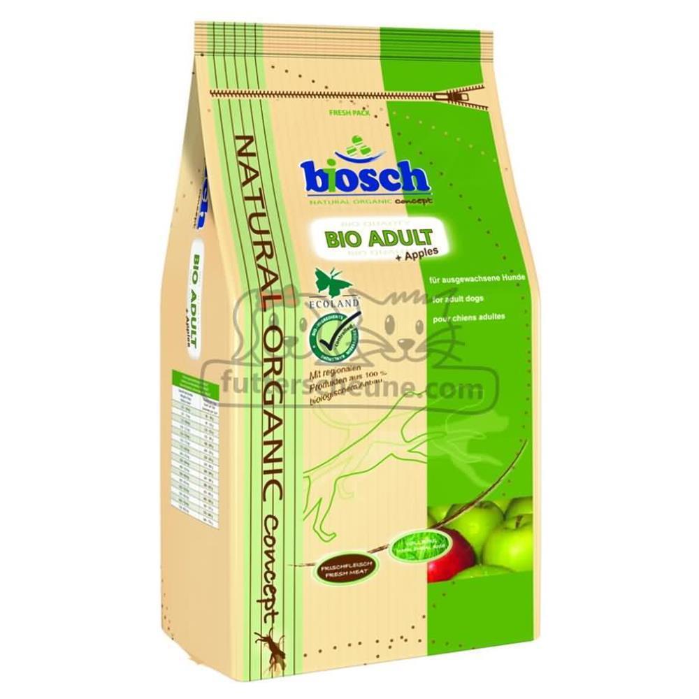 BOSCH Bio-Trockenfutter ADULT + APPELS 3,75kg für Hunde