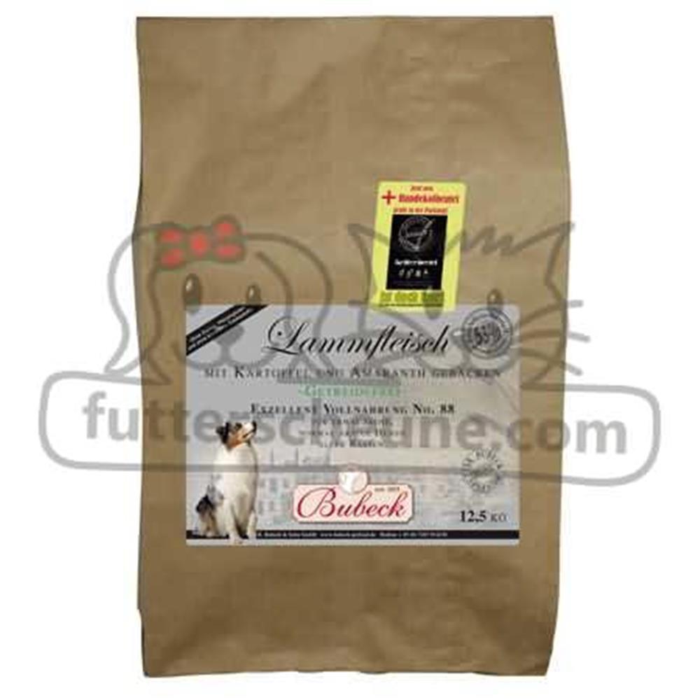 Trockenfutter EXZELLENT No. 88 Lammfleisch+Kartoffel+Amaranth 6,0 kg für Hunde