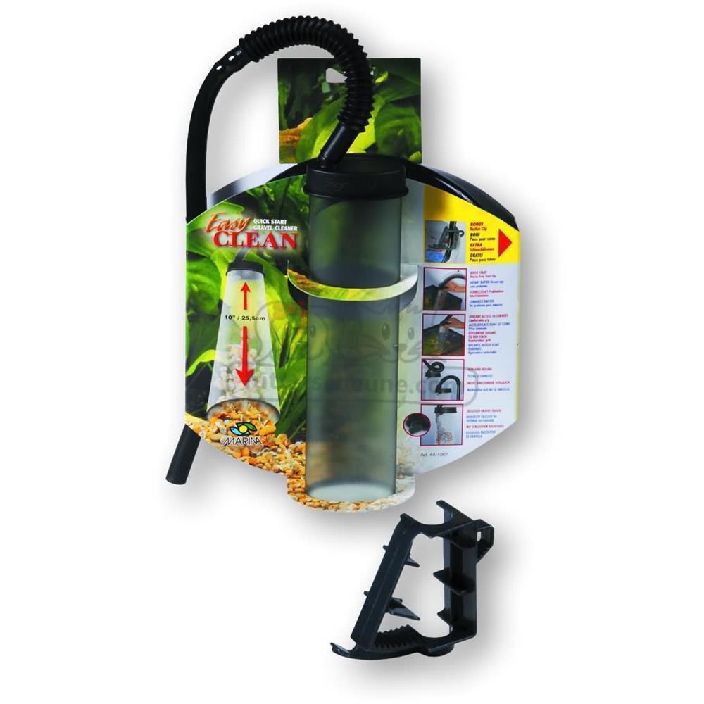 hagen aquarienkiesreiniger marina easy clean 25 5 cm f r aquarie. Black Bedroom Furniture Sets. Home Design Ideas