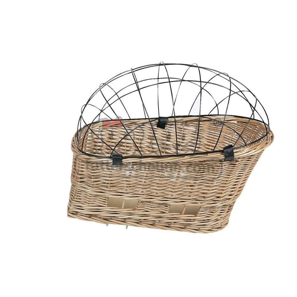 karlie fahrradkorb vollweide mit schutzgitter f r den gep c. Black Bedroom Furniture Sets. Home Design Ideas