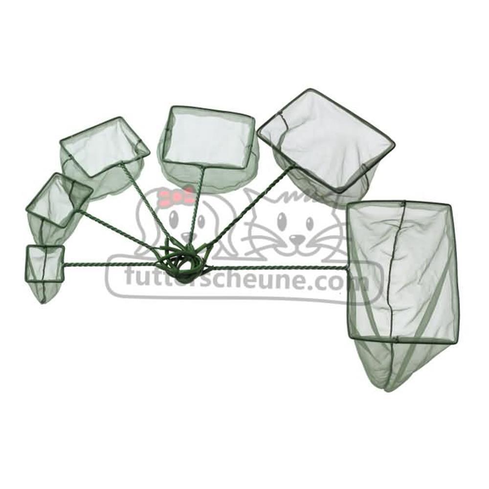 Kescher AQUARIENKESCHER aus grünem Netz 7cm Durchmesser