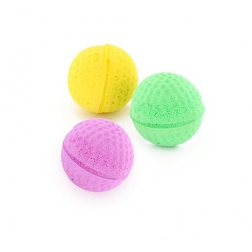 karlie spielzeug golfball 4cm mit catnip f r katzen und kleine h. Black Bedroom Furniture Sets. Home Design Ideas