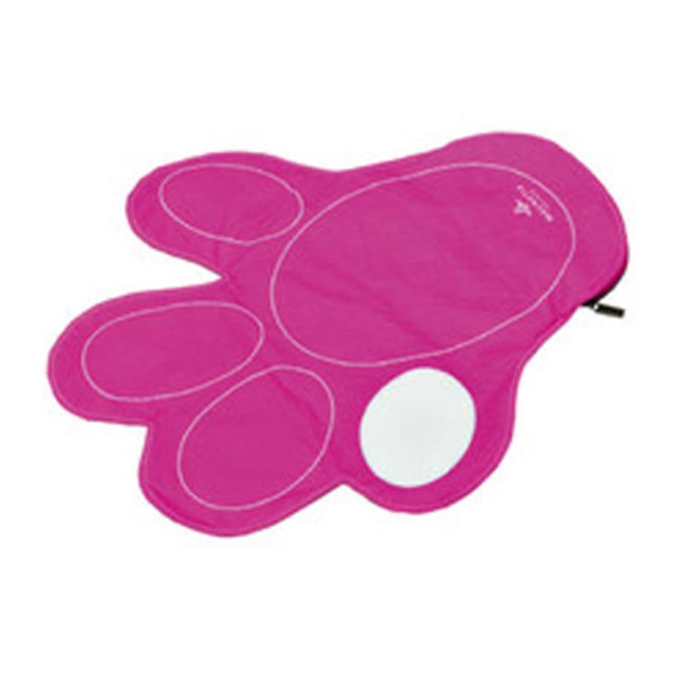 Magnet-Unterlage PFOTE pink für Tiere