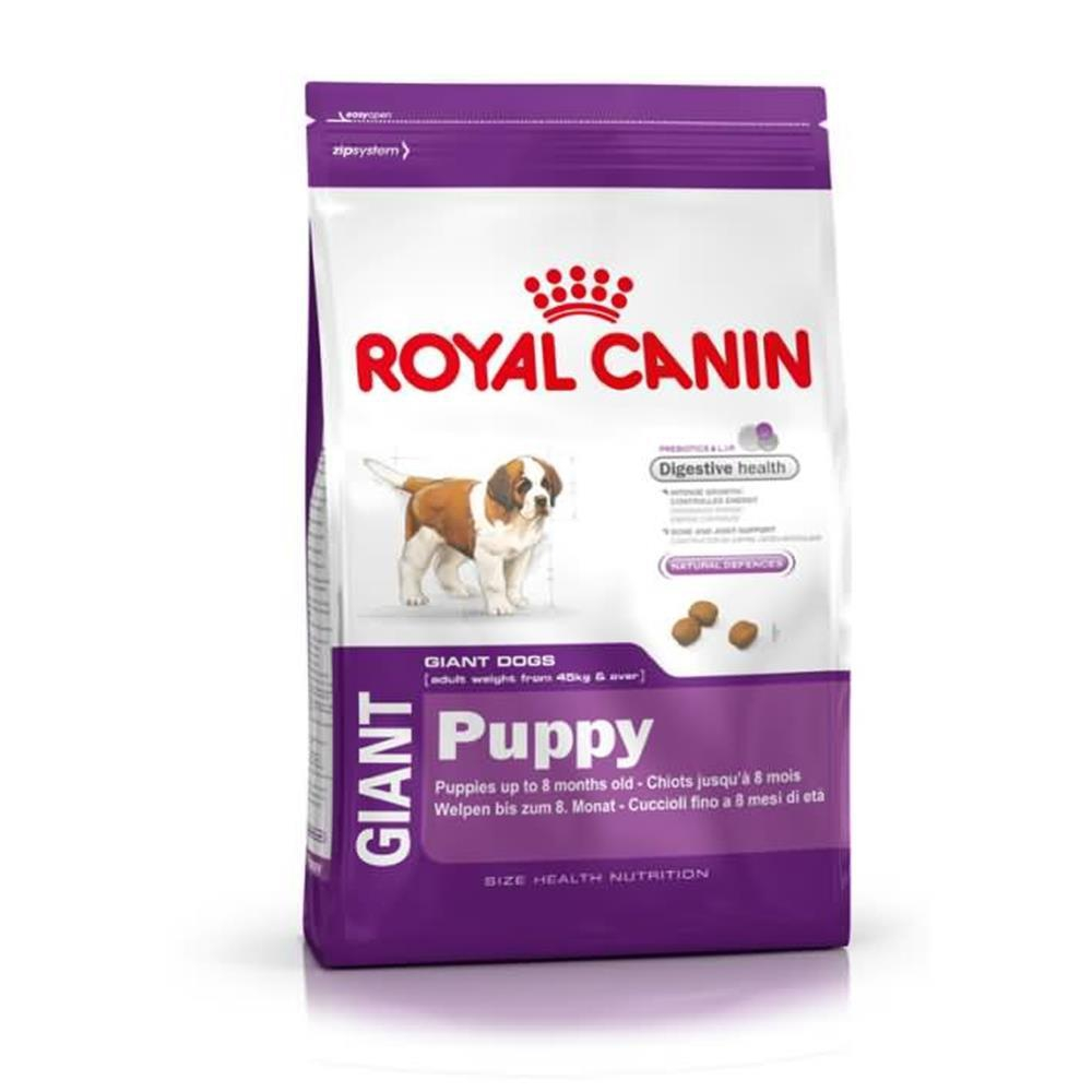 royal canin trockenfutter giant puppy f r hunde welpen von riese. Black Bedroom Furniture Sets. Home Design Ideas