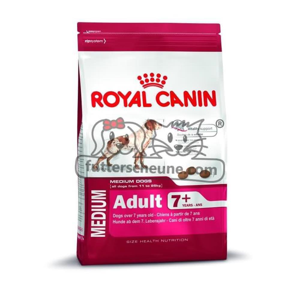 royal canin trockenfutter medium adult 7 senior f r mittelgro. Black Bedroom Furniture Sets. Home Design Ideas