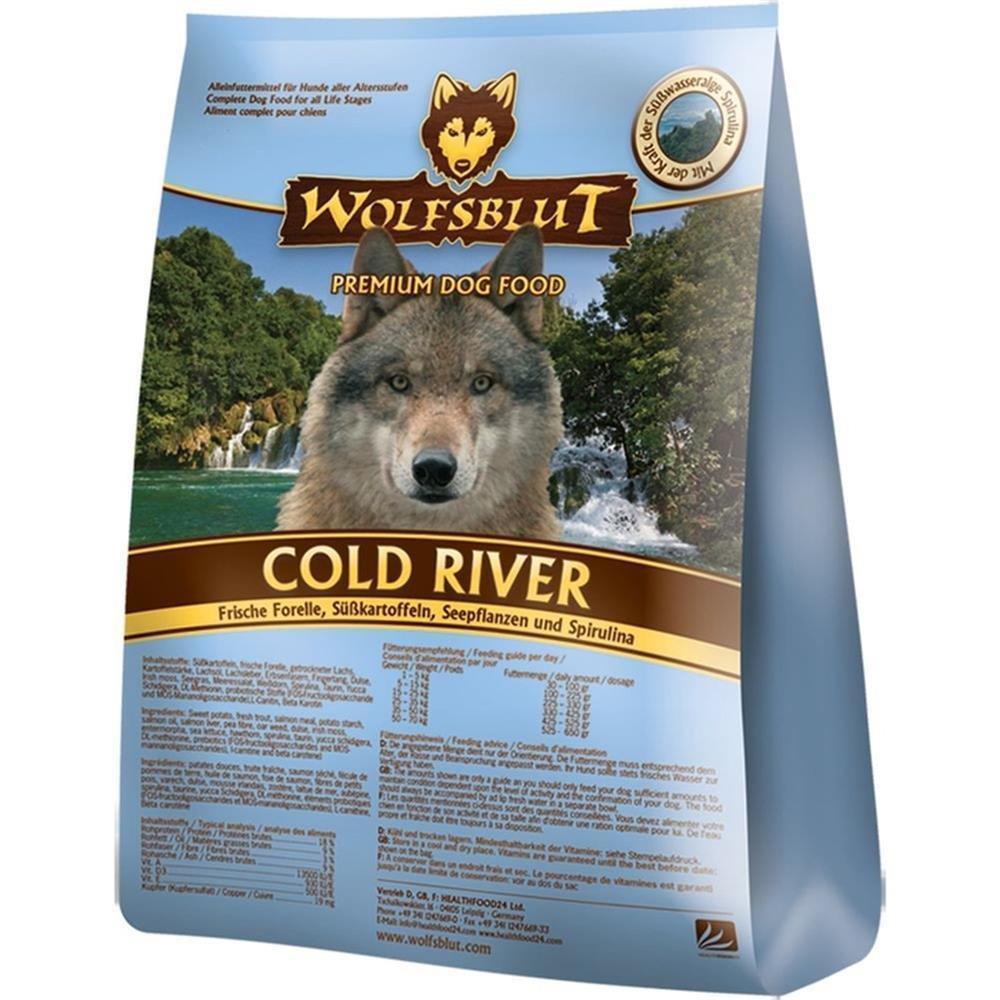 wolfsblut trockenfutter cold river forelle s kartoffel. Black Bedroom Furniture Sets. Home Design Ideas