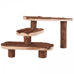 TRIXIE Naturholztreppe NATURAL LIVING TREPPE 38 x 24cm...