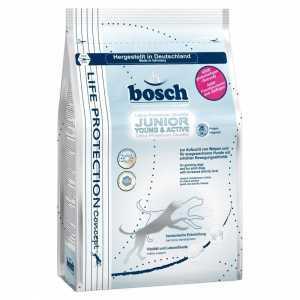 BOSCH Trockenfutter YOUNG + ACTIVE Life Protection Ultra Premium f�r Hunde