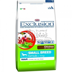 DORADO Futter SMALL BREED CHICKEN Exclusion Mediterraneo Huhn für Hunde