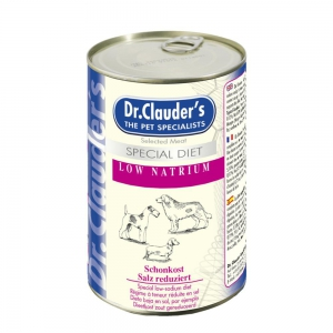 DR.CLAUDERS Nassfutter SPECIAL DIET Low Natrium 400g f�r Hunde