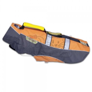 KARLIE TOUCHDOG Hundemantel OUTDOOR orange GRIP für...