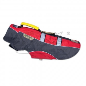 KARLIE TOUCHDOG Hundemantel OUTDOOR rot GRIP für...