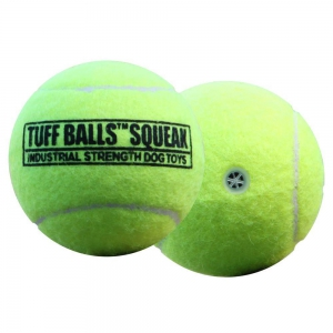 PETSPORT USA Gummi-Tennisball TUFF BALL SQUEAK 6cm...