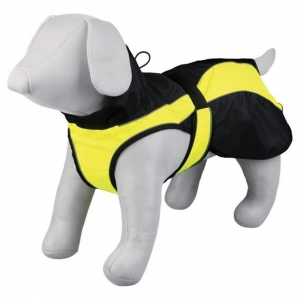 TRIXIE Hundemantel SAFETY schwarz/gelb...