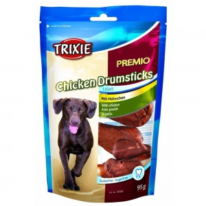 TRIXIE Leckerli PREMIO Chicken Drumsticks light 95g...