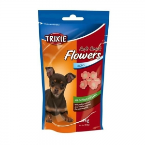 TRIXIE Leckerli SOFT SNACK Flowers light 75g f�r...