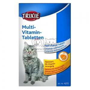 trixie nahrungserg nzung multi vitamin tabletten mit taurin 50g. Black Bedroom Furniture Sets. Home Design Ideas