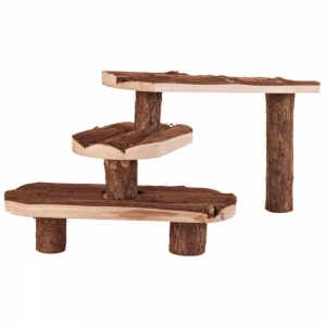 TRIXIE Naturholztreppe NATURAL LIVING TREPPE 38x24cm...