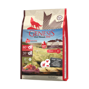 GENESIS PURE CANADA Halbfeuchtfutter BROAD MEADOW SOFT für Hunde 907g