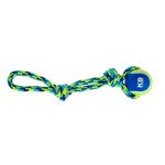 HAGEN K9 Fitness by Zeus Rope Tug with Tennis Ball...