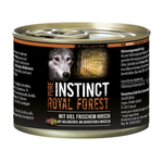 PURE INSTINCT Nassfutter ROYAL FOREST Hirsch Dose für Hunde