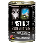 PURE INSTINCT Nassfutter SPRING MOUNTAINS Ziege Dose für...