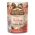 CARNILOVE Nassfutter TURKEY WITH VALERIAN 85%...