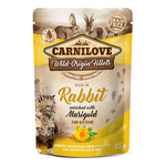 CARNILOVE Nassfutter RABBIT WITH MARIGOLD 85%...