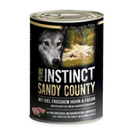 SAGAFLOR Nassfutter PURE INSTINCT Sandy County Huhn +...