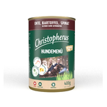 CHRISTOPHERUS Nassfutter HUNDEMENUE Senior mit ENTE...