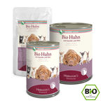 HERRMANNS Nassfutter SELECTION Sensible BIO-HUHN Karotte...