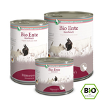 HERRMANNS Nassfutter SELECTION KREATIV-MIX BIO-ENTE...
