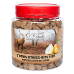O´ CANIS Snack FITNESS-BITS PLUS Hirsch mit Birne...
