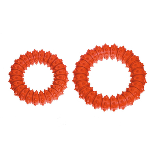 KARLIE Ring BOOMER Vollgummi AQUA Orange Gr. 15cm