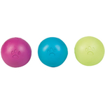 KARLIE Actionball GUMMIBALL SOFT RUBBER SQUEAKY mit...