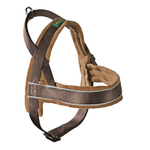 HUNTER Hundegeschirr RACING braun/cognac XL (65-80cm...