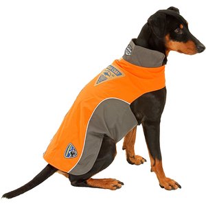 KARLIE TOUCHDOG Hundemantel OUTDOOR orange CRASH COAT für Hündinnen und Rüden