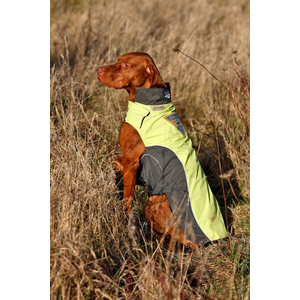 KARLIE TOUCHDOG Hundemantel OUTDOOR türkis CRASH COAT Gr. 2XL (56cm-78cm-46cm)