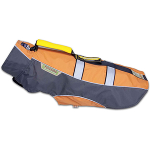 KARLIE TOUCHDOG Hundemantel OUTDOOR orange GRIP Gr. XL (47cm-62cm-38cm)