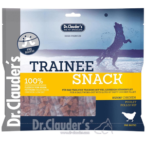 DR. CLAUDERS Snacks HUHN TRAINEE SNACK Mega-Pack 500g für...