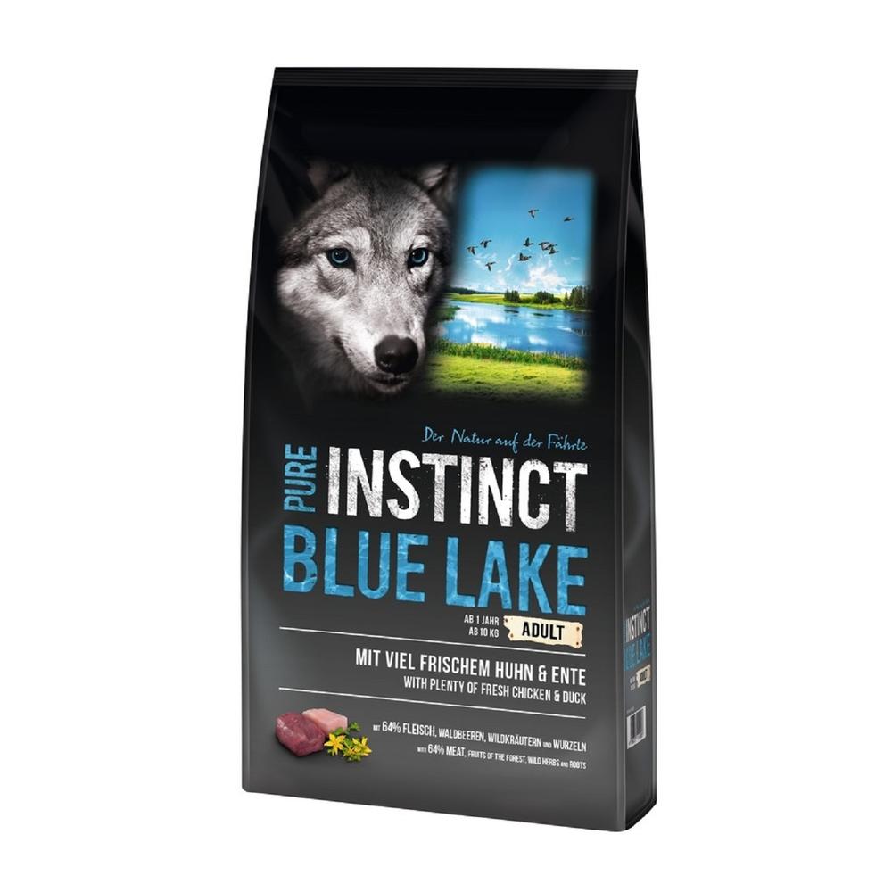 sagaflor trockenfutter pure instinct blue lake huhn und ente f r hund 5 99. Black Bedroom Furniture Sets. Home Design Ideas
