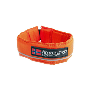 NON-STOP Halsband SAFE COLLAR Reflektionshalsband ORANGE...