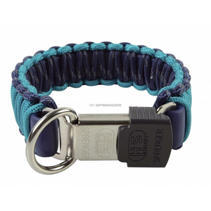 SPRENGER Halsband PARACORD HALSBAND space/lagoon ClicLock...