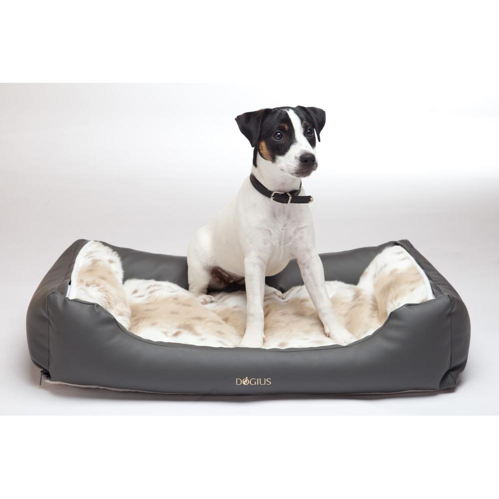 dogius liegebett bett kunstleder gr e s 70x45x15 cm f uum. Black Bedroom Furniture Sets. Home Design Ideas
