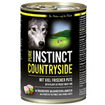 PURE INSTINCT Nassfutter COUNTRYSIDE Pute Dose für Hunde