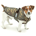 KARLIE Hundemantel OUTDOOR 2 in1 CAMOUFLAGE...