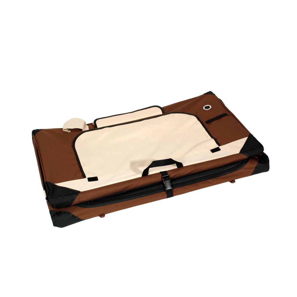 karlie transportbox smart top deluxe beige braun f r hunde futtersc 89 00. Black Bedroom Furniture Sets. Home Design Ideas